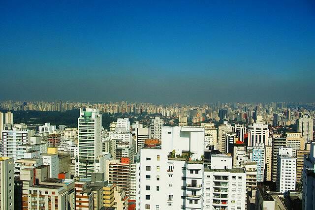 Poluição em São Paulo (Alexandre Giesbrecht/Wikipedia)