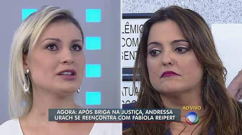 Andressa Urach diz que tinha ódio de Fabíola Reipert e pede desculpas à colunista